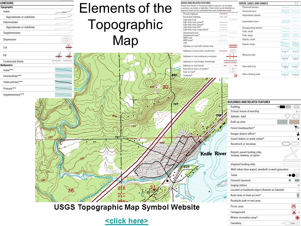 The Topographic Map Ppt Download