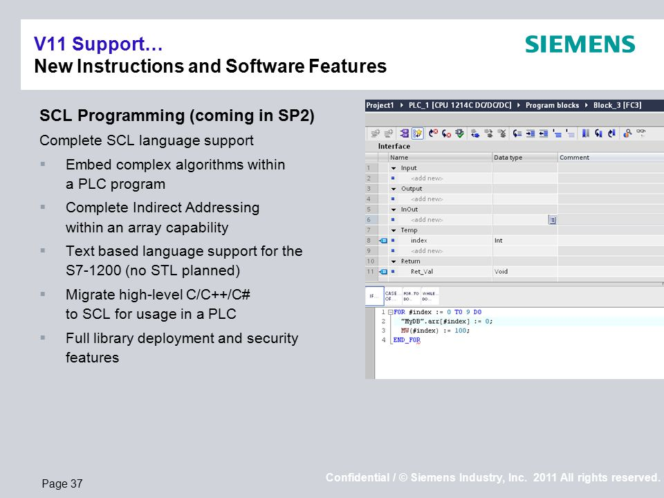 siemens industry inc industry automation ppt download rh slideplayer com siemens scl programming manual 1200 siemens scl programming manual pdf