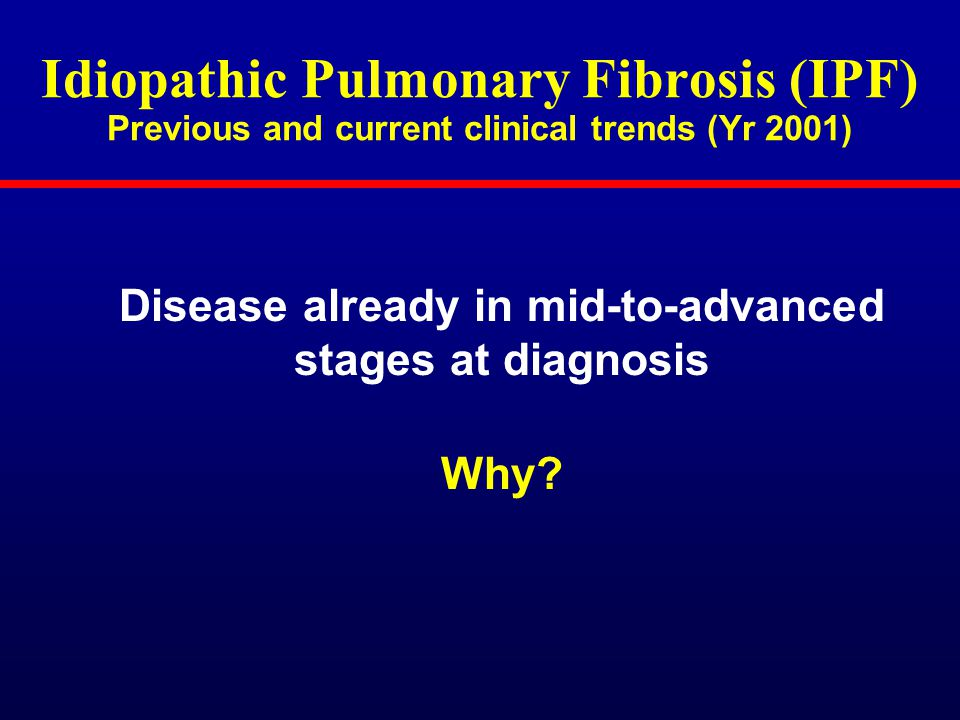 pulmonary fibrosis stages