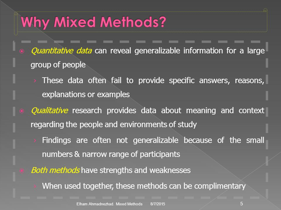 Research Design Mixed Methods - ppt video online download