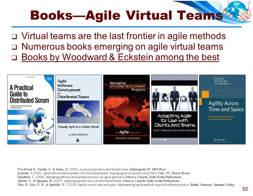 Books—Agile Virtual Teams