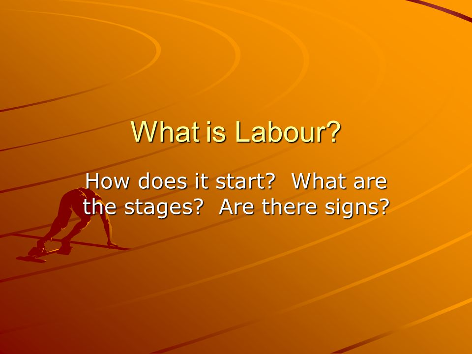 How does it start What are the stages Are there signs