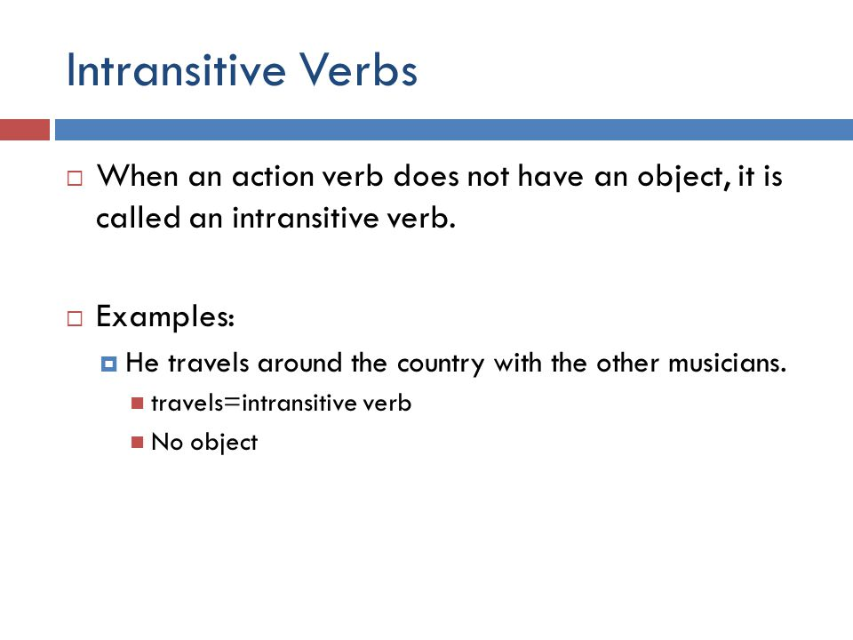 Verbs Action Linking Auxiliary Helping Transitive And