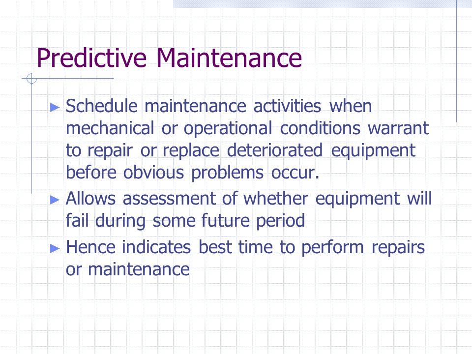Top Five Maintenance Prédictive Définition - Circus