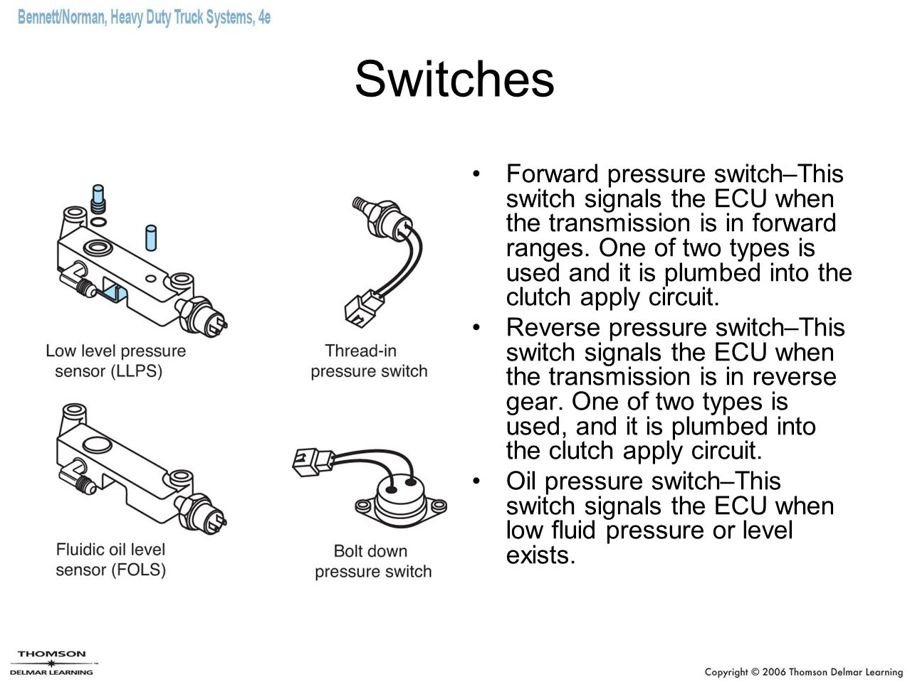 Allison Automatic Transmission Reverse Switch Free Download 3000 Wiring Diagram Electronic Transmissions Ppt