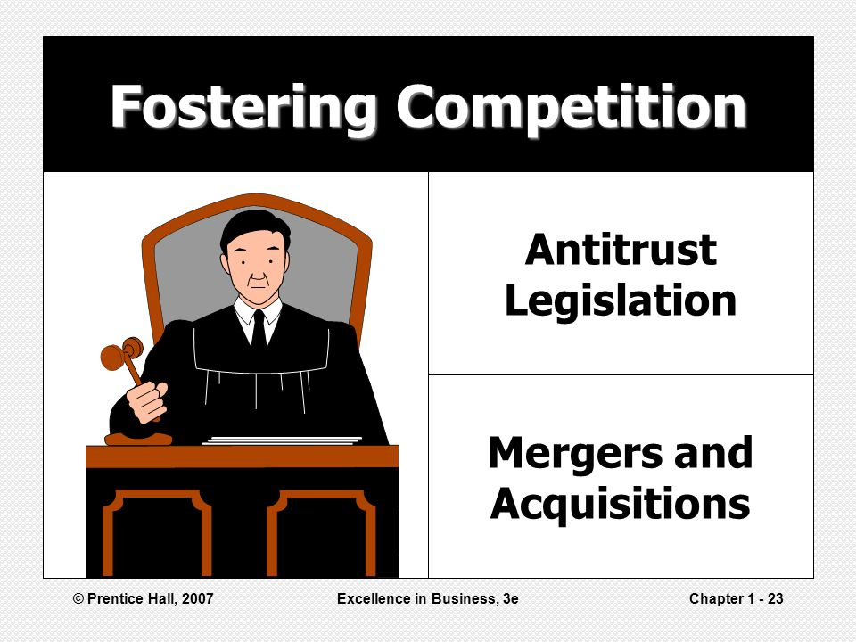 Fostering Competition