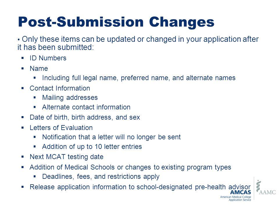 School Designation Amcas