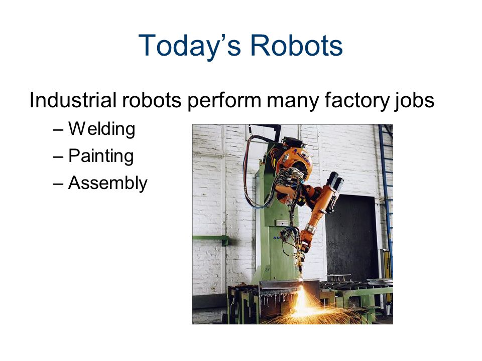 2 1 Automation & Robotics  - ppt download
