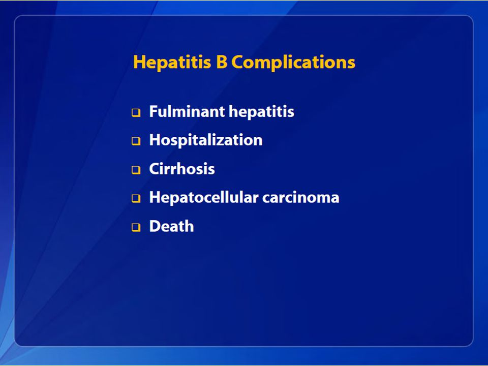 Viral Hepatitis A, B, and C