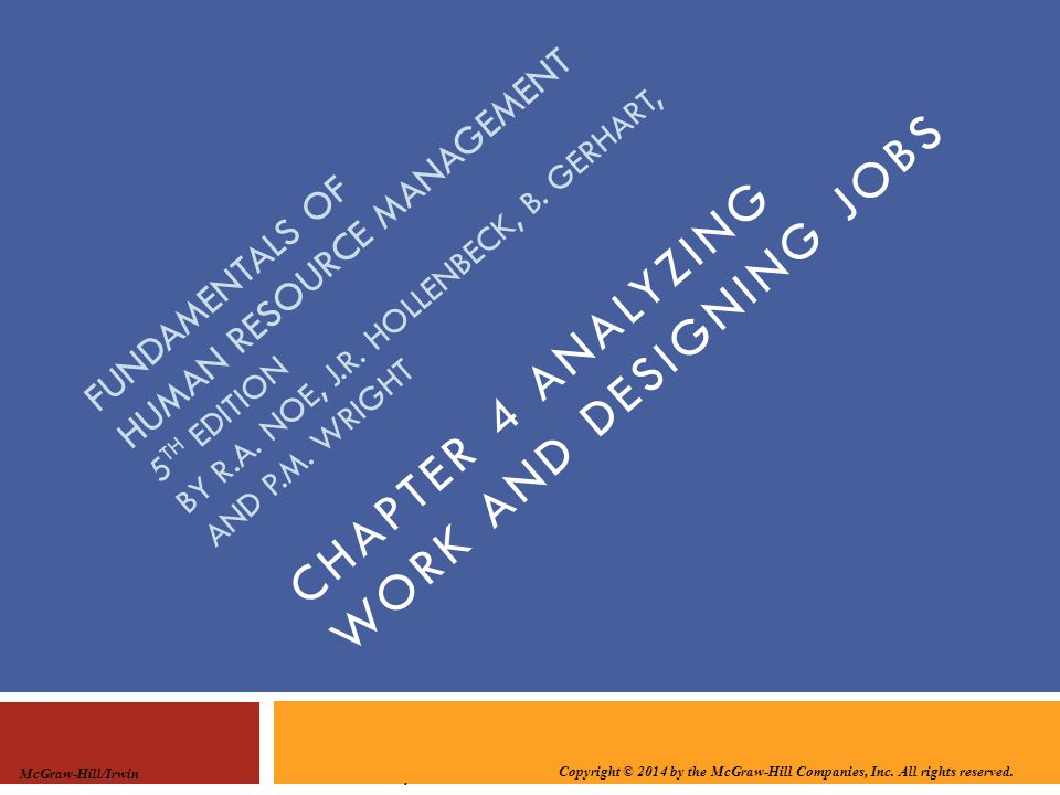 Chapter 4 analyzing work and designing jobs ppt download chapter 4 analyzing work and designing jobs fandeluxe Choice Image