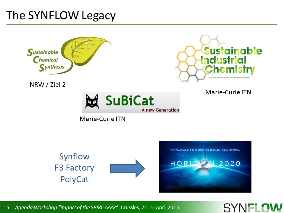 SYNFLOW - A Success Story Walter Leitner - ppt download