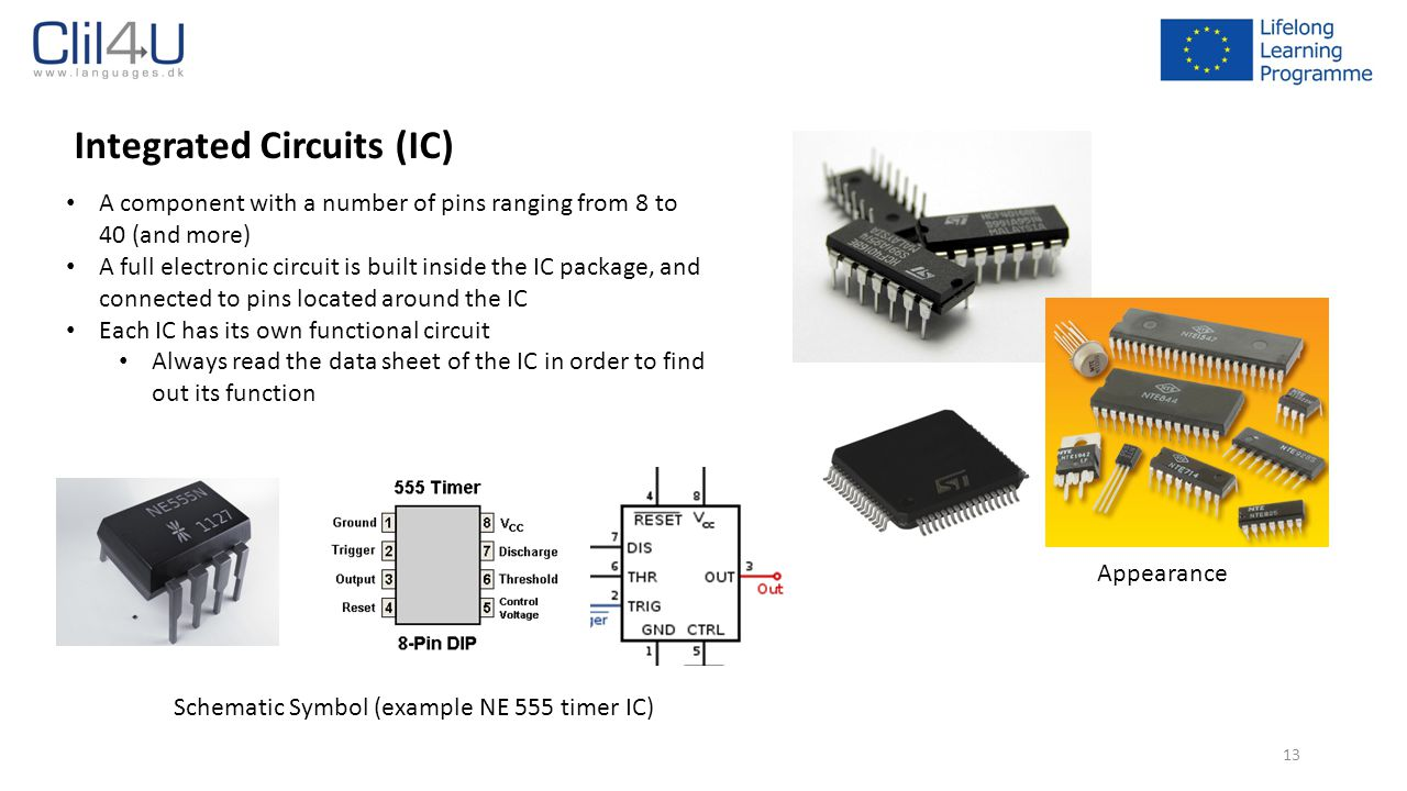 Electronic Components Ppt Download Where To Buy Integrated Circuits Schematic Symbol Example Ne 555 Timer Ic