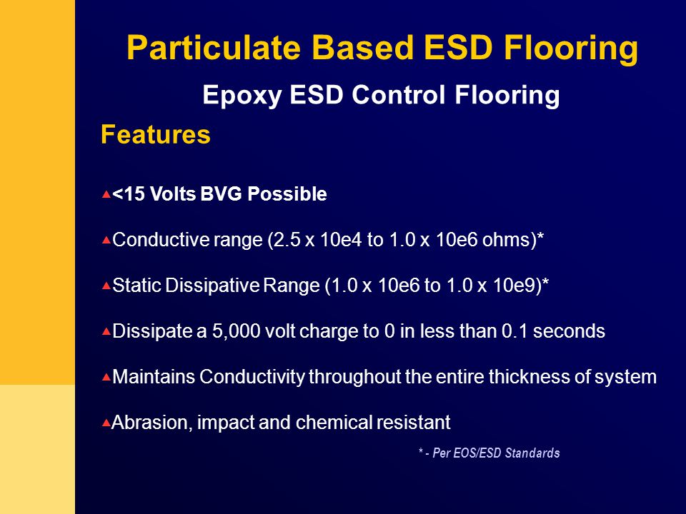 Technical Sales Specialist ESD Sika Industrial Flooring Ppt Download - Esd flooring definition