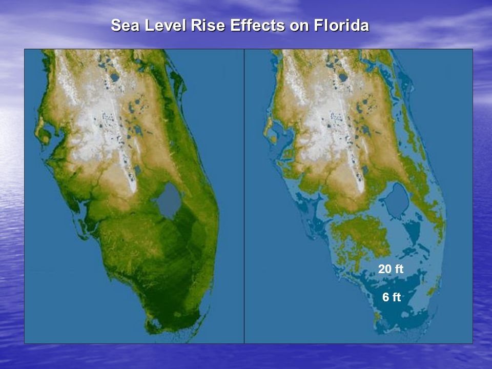 Sea Level Rise Effects on Florida