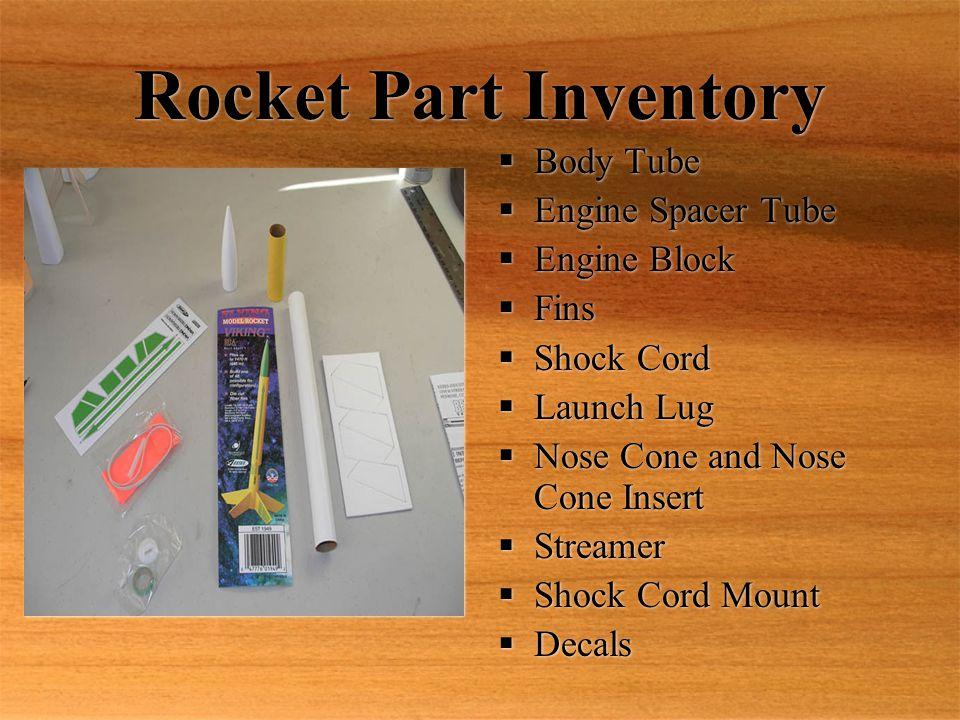 Building A Model Rocket - ppt download