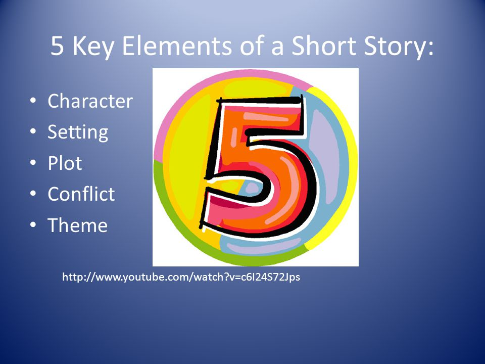 5 Key Elements Of A Short Story