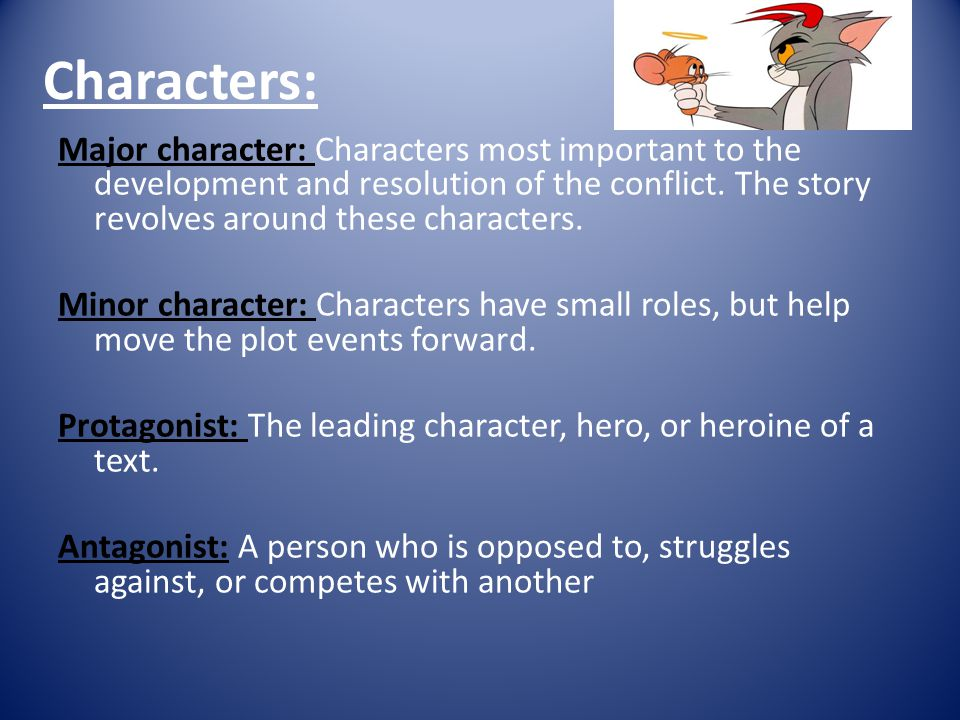 5 Key Elements Of A Short Story 3 Characters