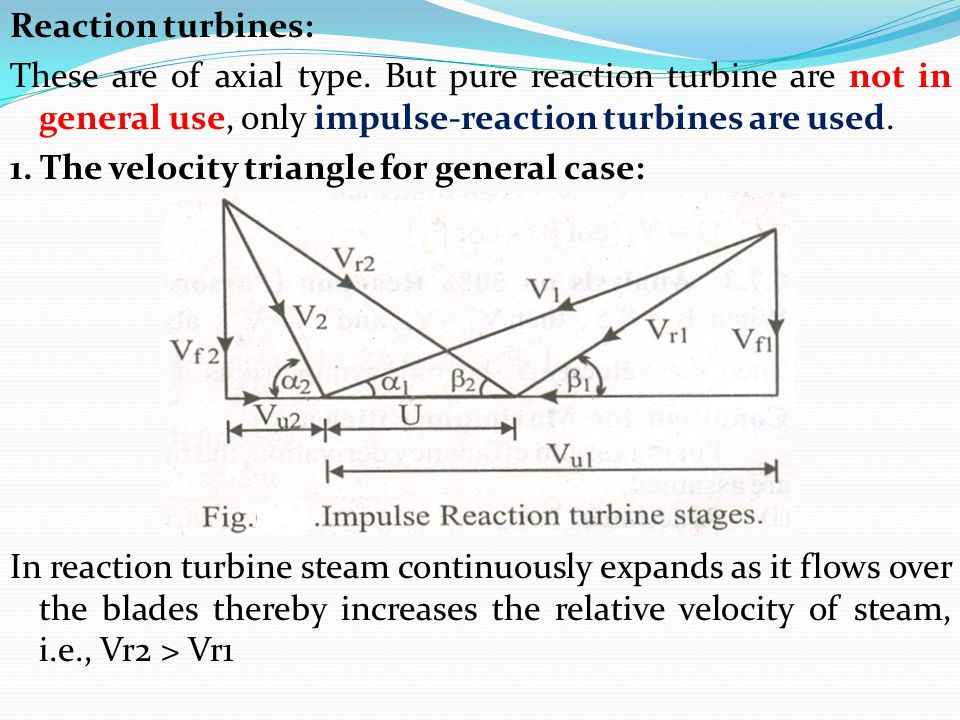 Turbomachines Chapter 7 Steam Turbines Ppt Video Online Download