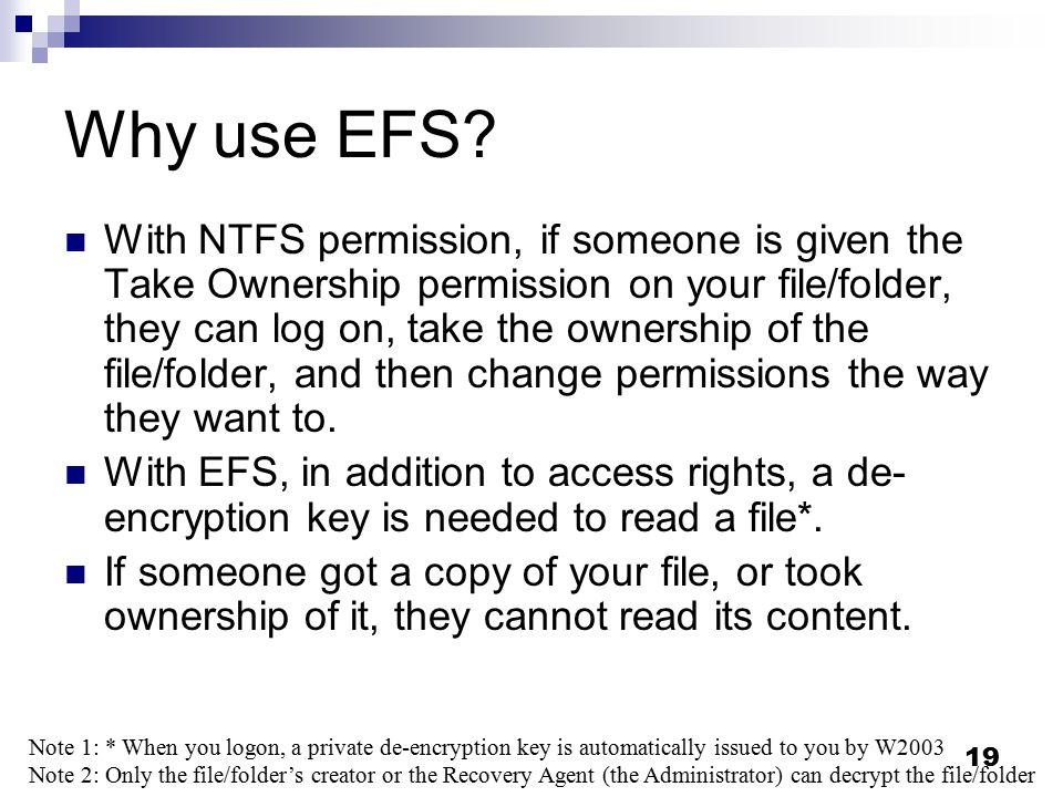 Efs Folder Download