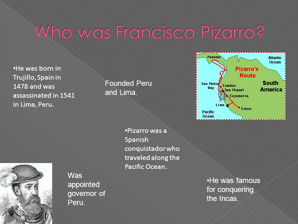 francisco pizarro expedition route