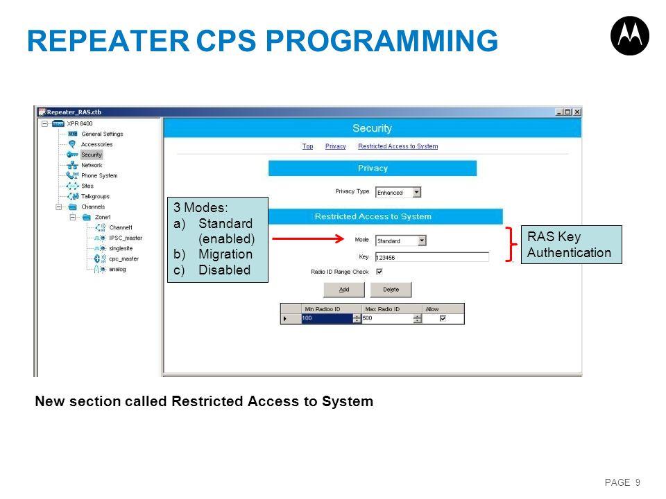 MOTOTRBOTM Software Release 2 2 Training  - ppt download