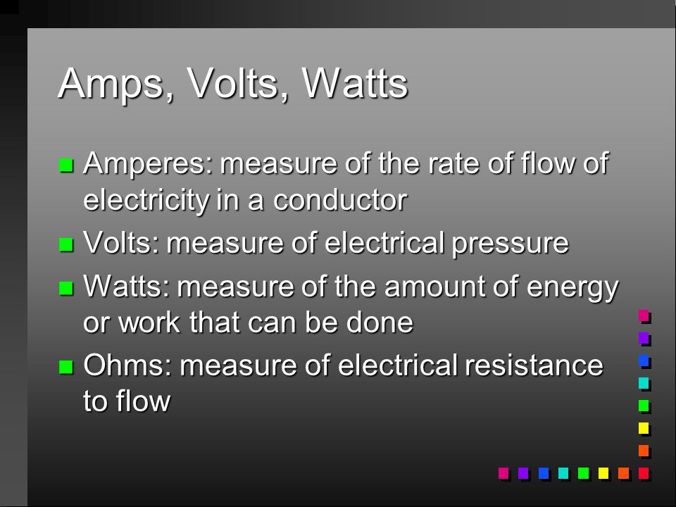 Electrical Principles and Wiring Materials - ppt video online download