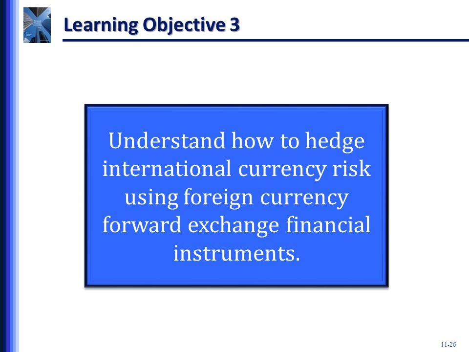 Foreign exchange instruments