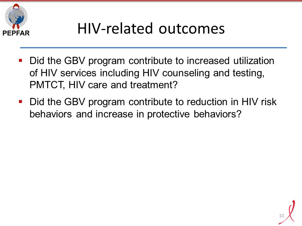 HIV-related outcomes