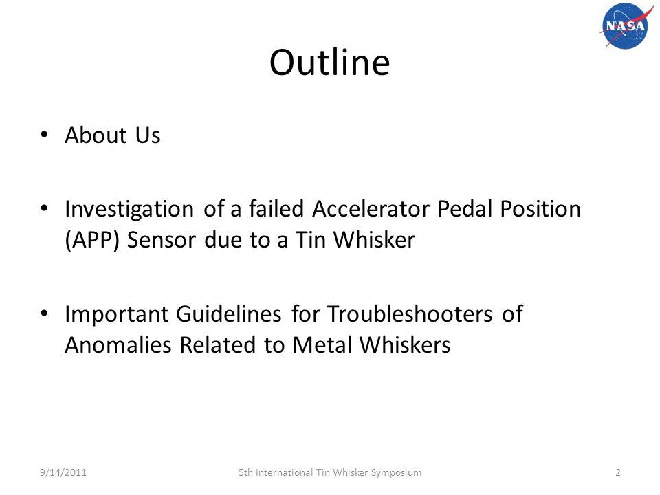 Electrical Failure of an Accelerator Pedal Position Sensor
