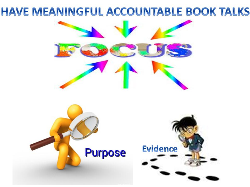 HAVE MEANINGFUL ACCOUNTABLE BOOK TALKS