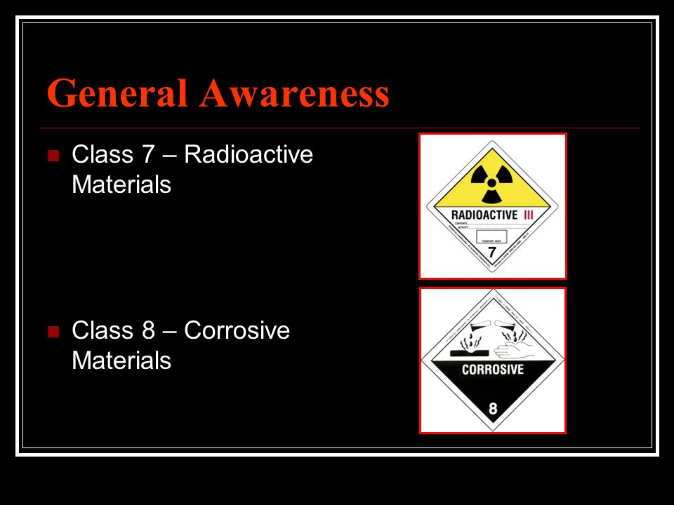 General Awareness Class 7 – Radioactive Materials