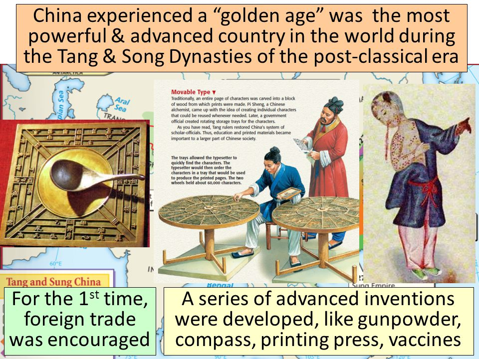 Tang & Song Dynasties ( )