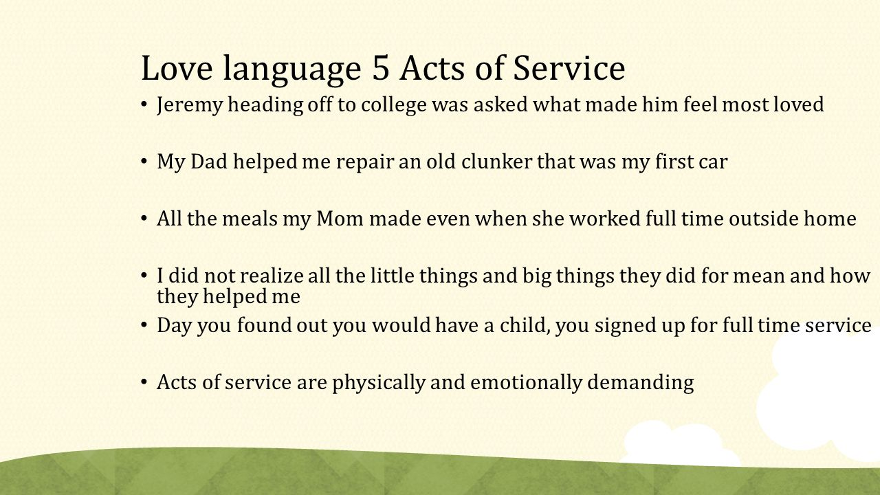 The Five Love Languages Of Children Ppt Video Online Download