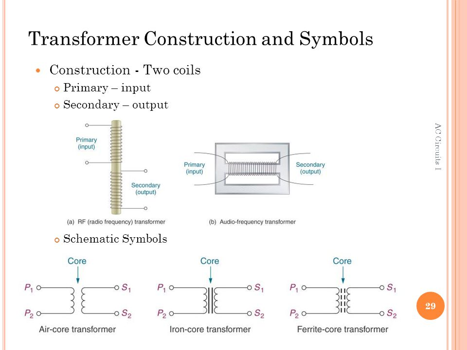 Unique Transformer Schematic Symbols Mold - Electrical Circuit ...