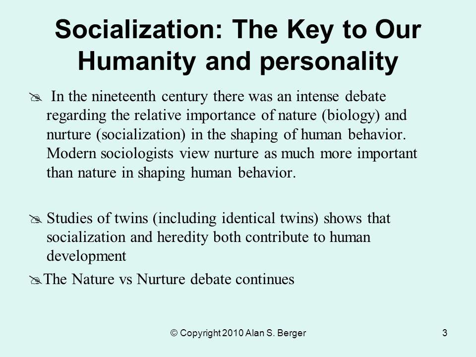 Importance Of Nature Vs Nurture Debate In Social Work
