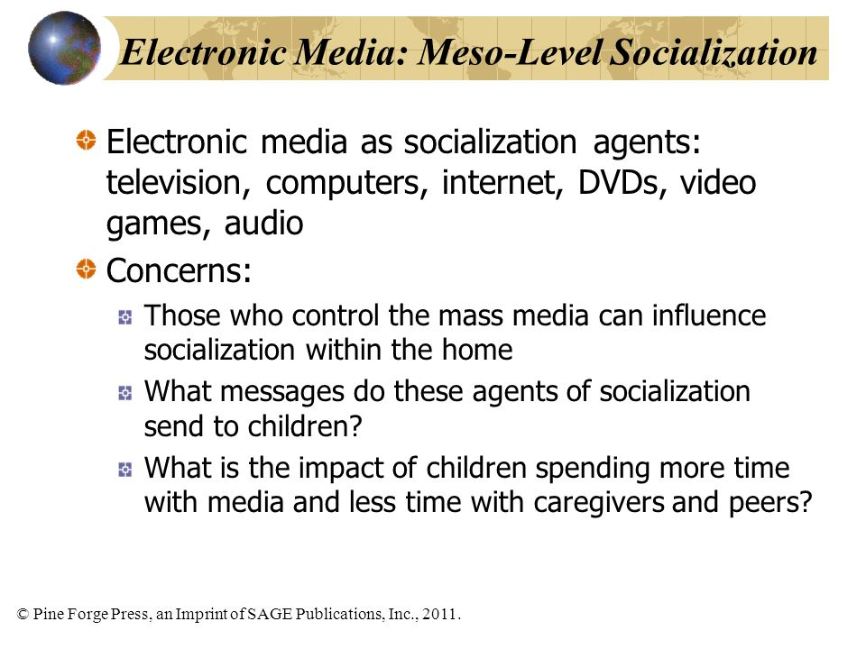 mass media influence socialization