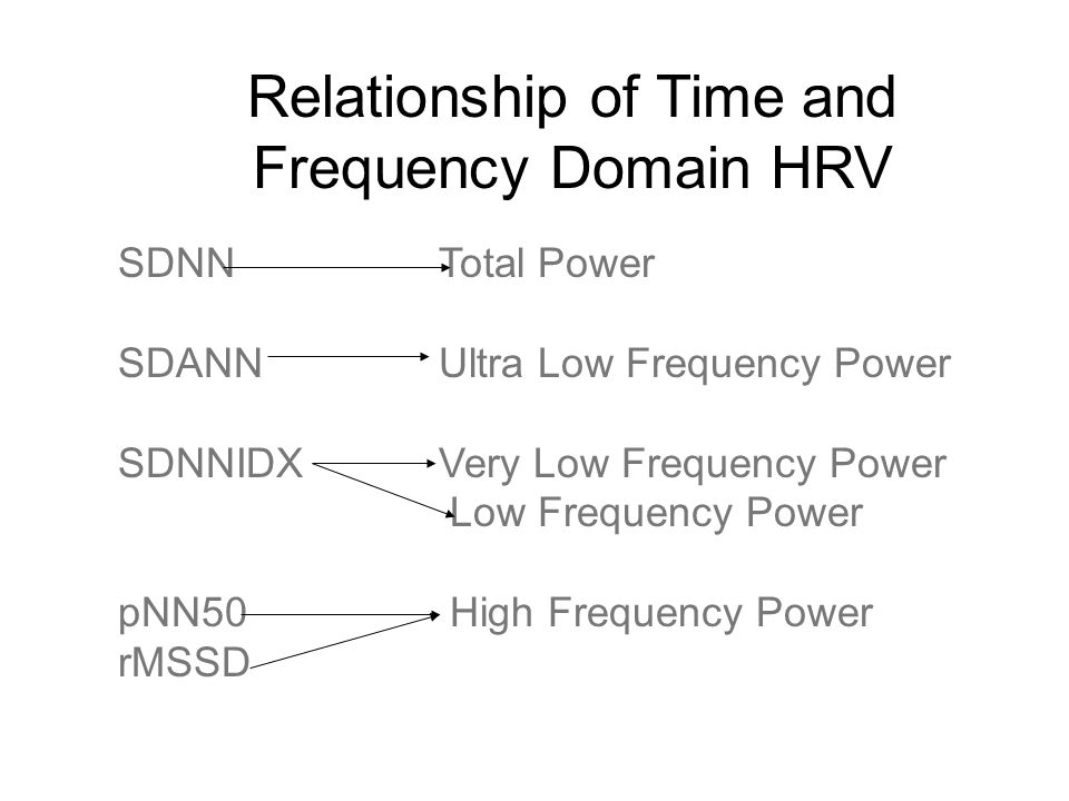 Heart Rate Variability to Assess Autonomic Function - ppt
