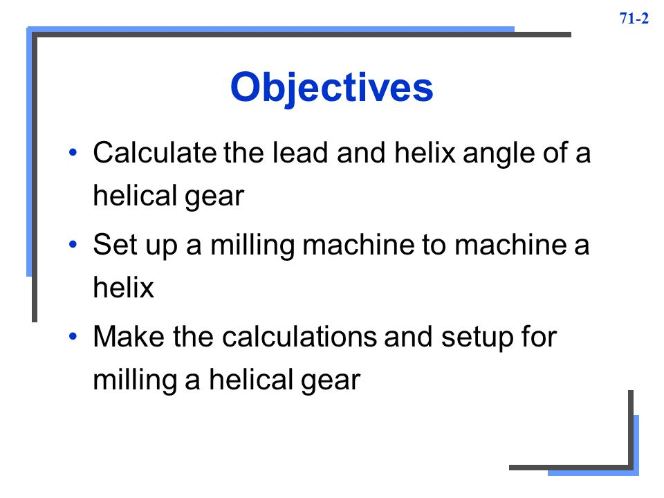 Helical Milling Unit ppt video online download