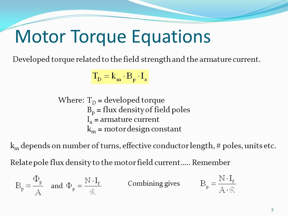 Lesson 10: Separately Excited Dc Motors - ppt video online