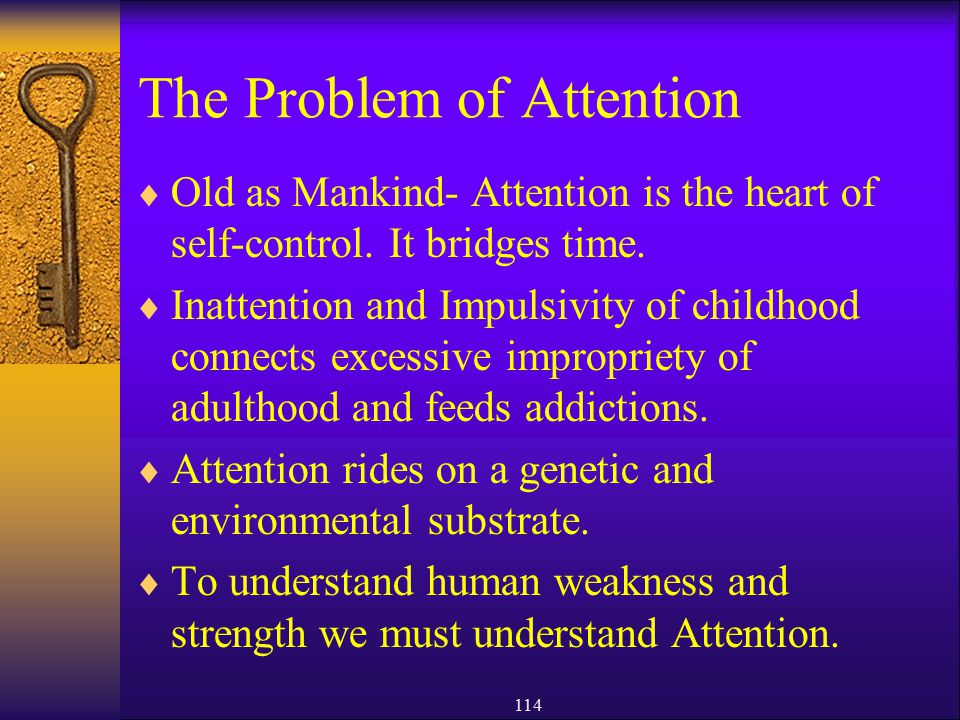 The Problem of Attention