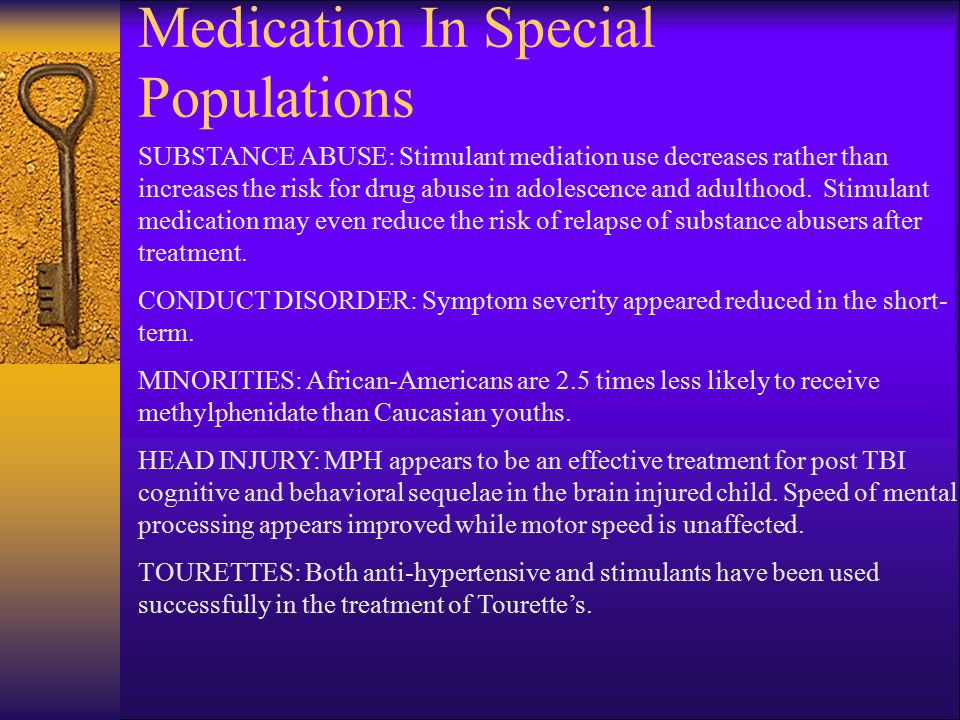 Medication In Special Populations