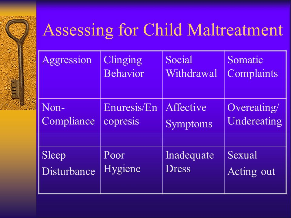 Assessing for Child Maltreatment