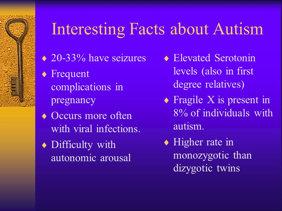 Interesting Facts about Autism