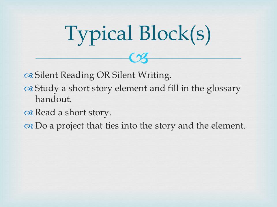 a creative writing story