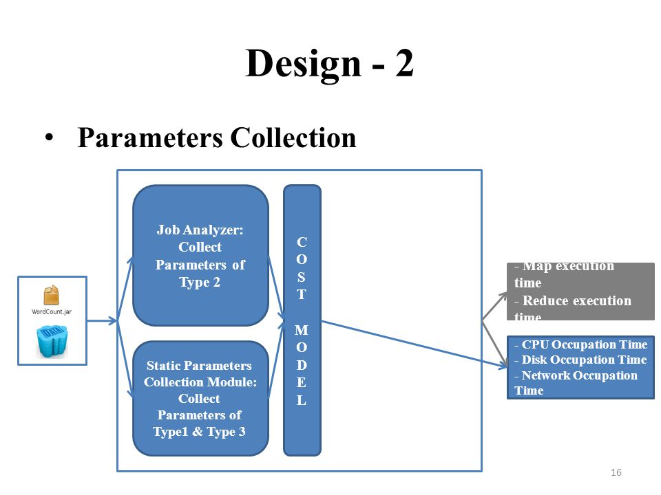 Design - 2 Parameters Collection Job Analyzer: C
