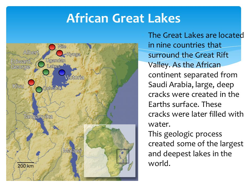 African Great Lakes