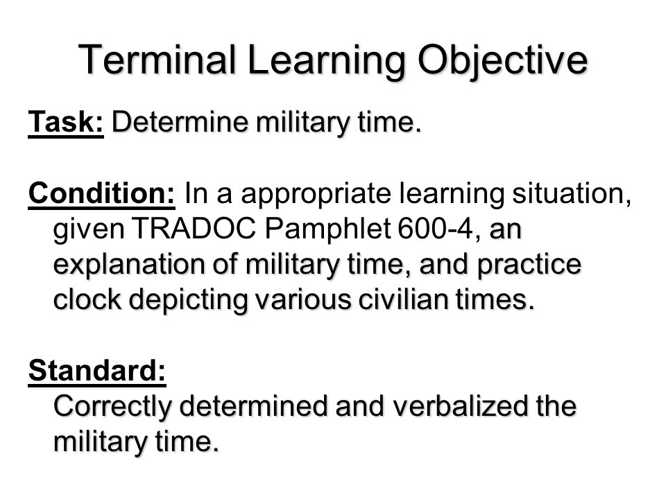 Determine Military Time - ppt video online download