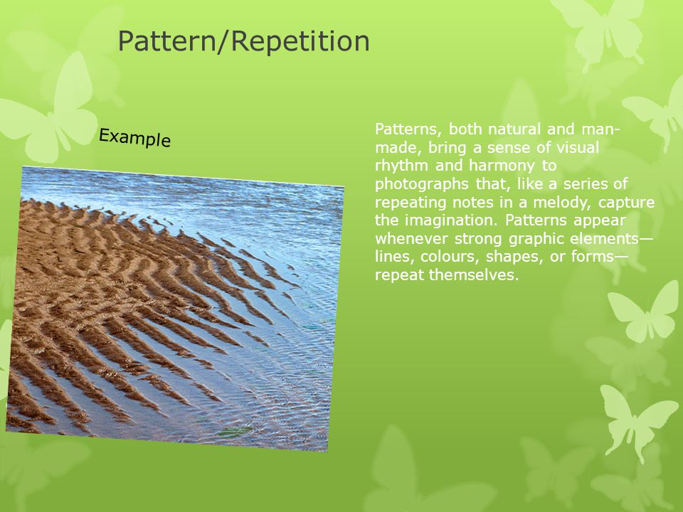 Pattern/Repetition Example