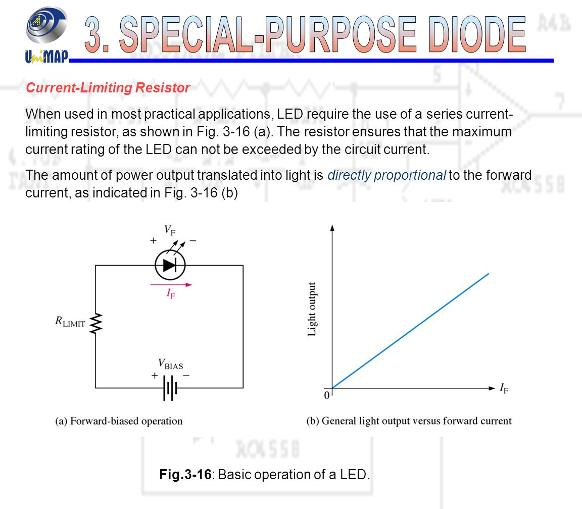 Special Purpose Diode Ppt Video Online Download Three Led Resistor Series Circuit 22 3