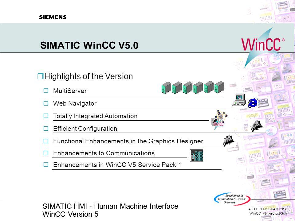 SIMATIC WinCC V5 0 WinCC V5 Under Windows NT  - ppt video online